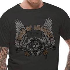 T-Shirt - Sons Of Anarchy - Winged Logo