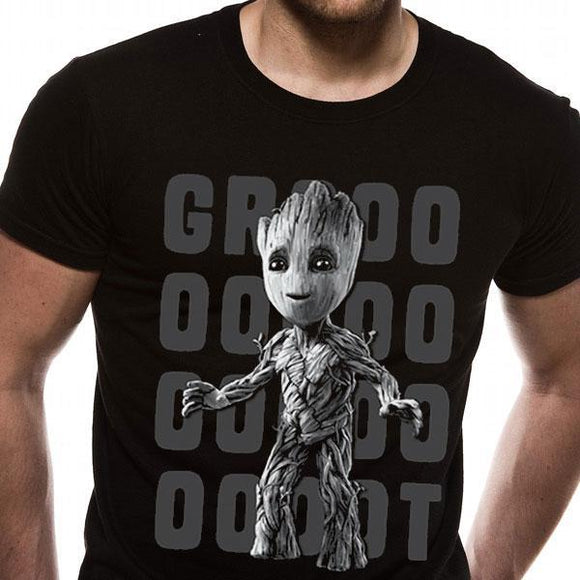 T-Shirt - Guardians Of The Galaxy 2 - Groot Photo