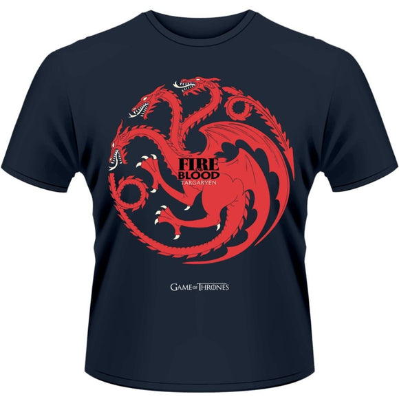 T-Shirt - Game Of Thrones - Fire And Blood
