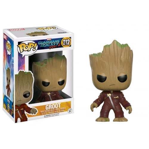 FUNKO POP - GUARDIANI DELLA GALASSIA 2 - (212) YOUNG GROOT IN SUIT - ANGRY