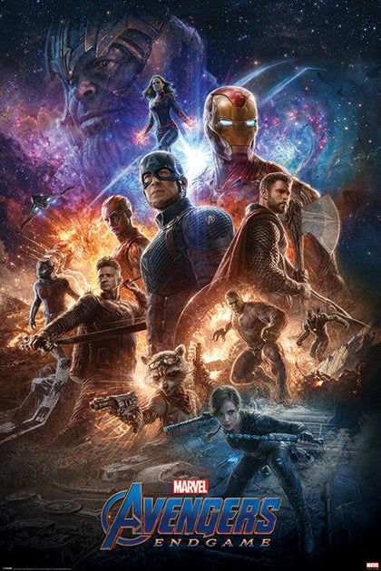Poster - Avengers - Endgame (From The Ashes)