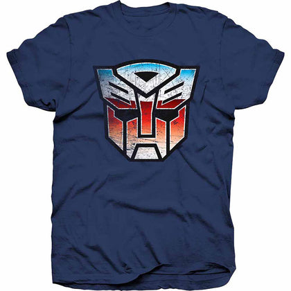 T-Shirt - Transformers Autobot Shield Distress