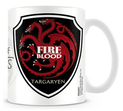 Tazza - Game Of Thrones - Targaryen
