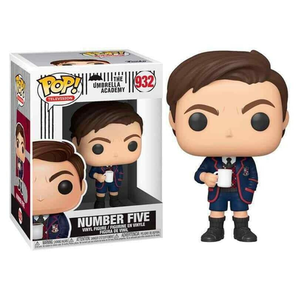 FUNKO POP - THE UMBRELLA ACADEMY - (932) NUMBER FIVE 9CM