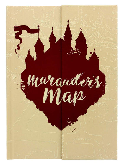 Quaderno - Harry Potter - Marauder's Map (A5)