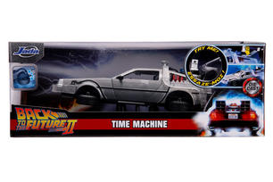 Collezionabili - Back To The Future 2: Time Machine In Scala 1:24 Con Luci Die-Cast