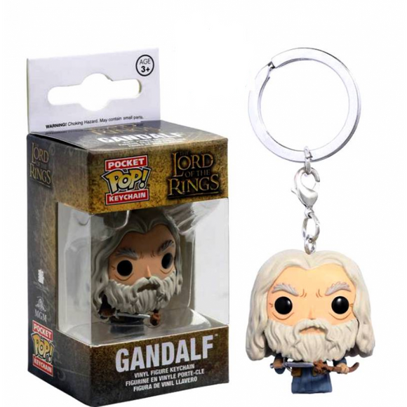 Portachiavi - Funko POP Pocket - Lord Of The Rings - Gandalf