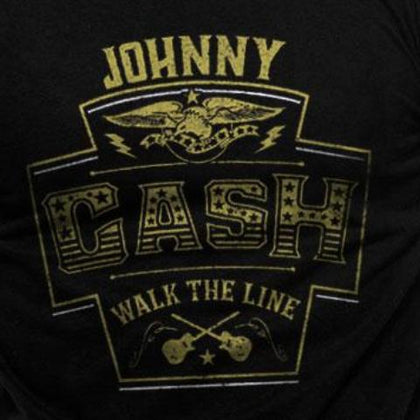 T-Shirt - Johnny Cash - Label
