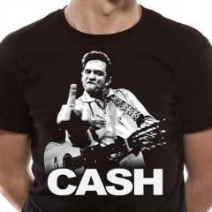 T-Shirt - Johnny Cash - Finger Salutes