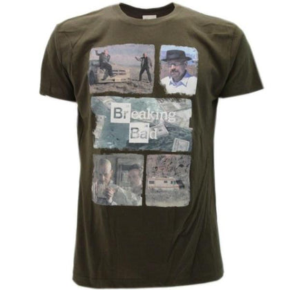 T-Shirt - Breaking Bad - Collage