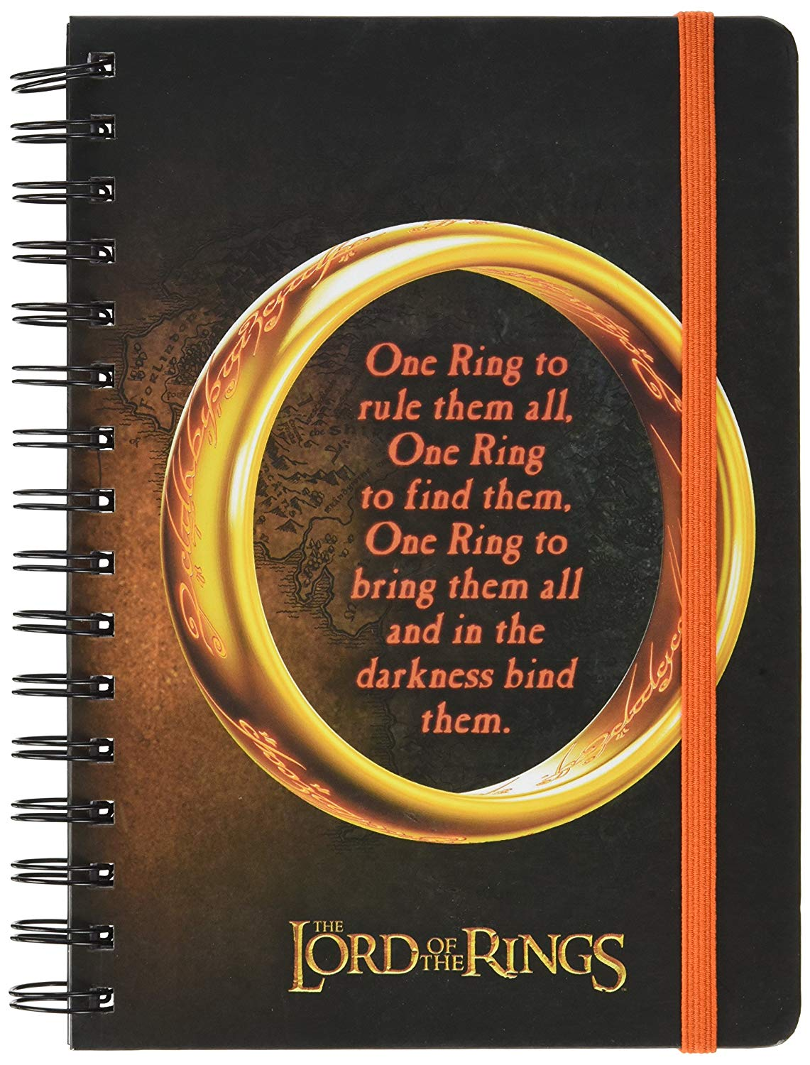 Quaderno - Lord Of The Rings - One Ring (A5)