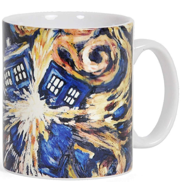 Tazza - Doctor Who - Exploding Tardis