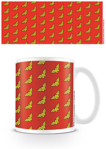 Tazza - Wonder Woman - Logo Pattern