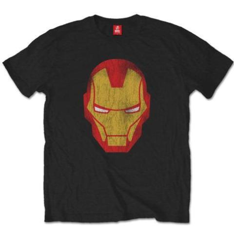 T-Shirt - Iron Man - Marvel Comics - Distressed