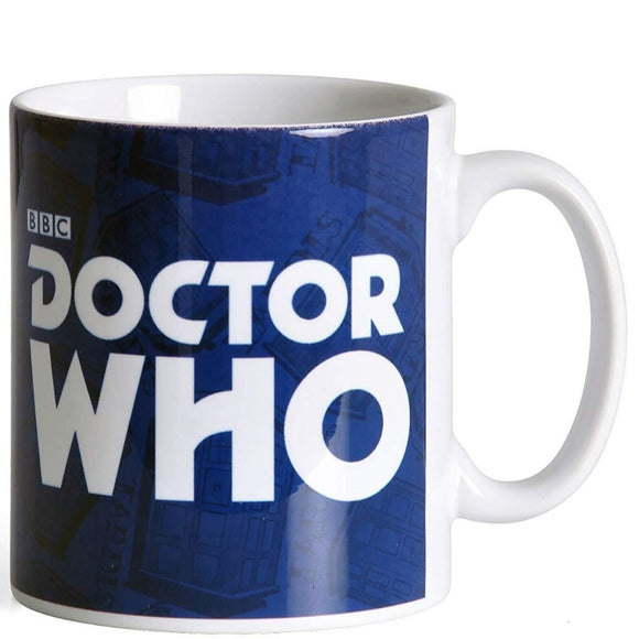 Tazza - Doctor Who - Logo