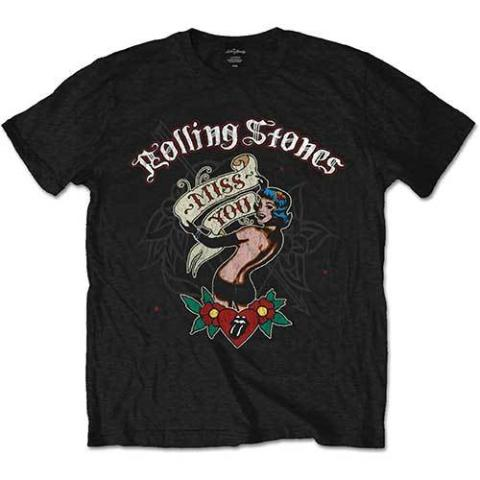 T-shirt - Rolling Stones - Miss You