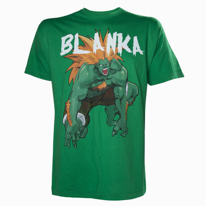 T-Shirt - Street Fighter - Green Blanka