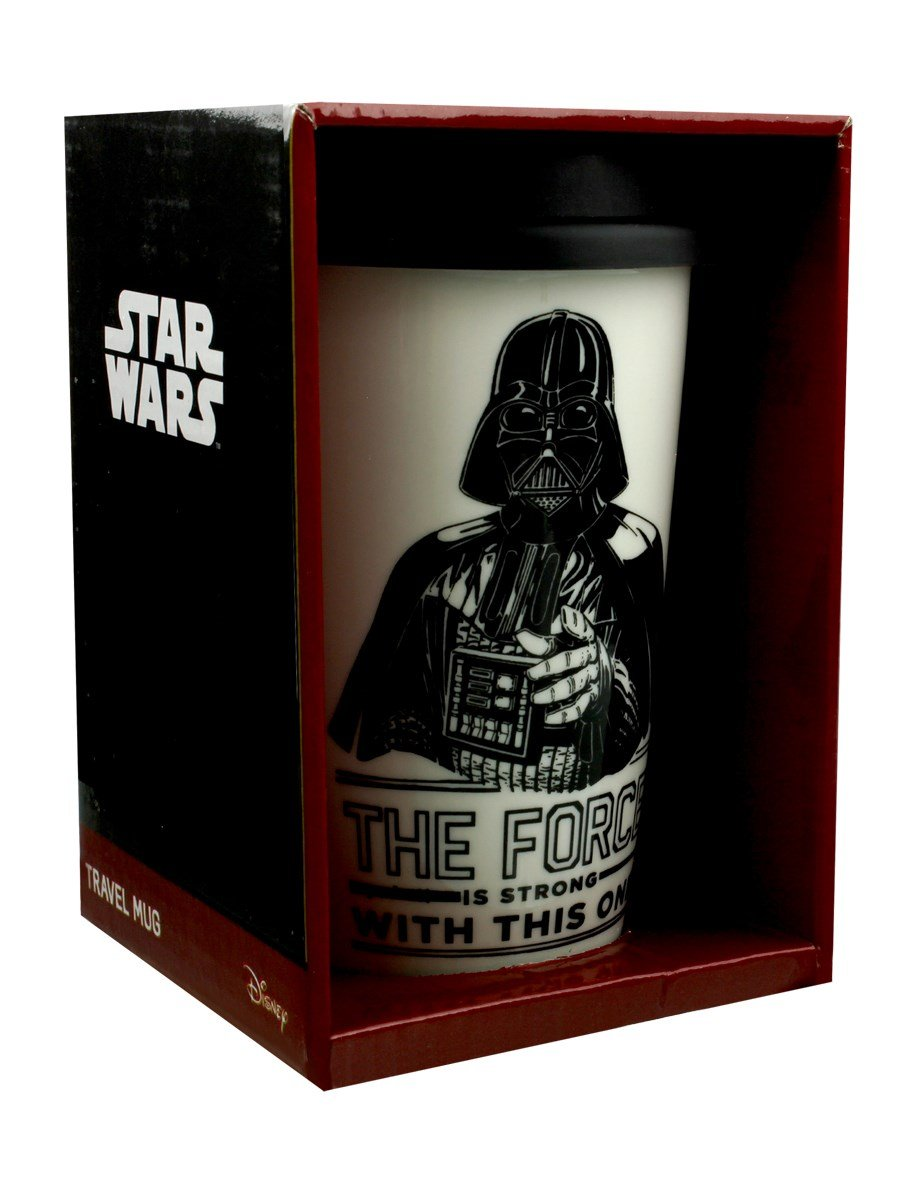 Tazza Da Viaggio - Star Wars - Darth Vader (The Force Is Strong)