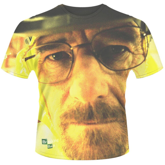 T-Shirt - Breaking Bad - Walter Face