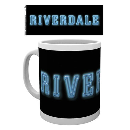 Tazza - Riverdale - Logo On Black