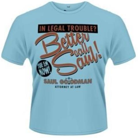 T-Shirt - Breaking Bad - Better Call Saul