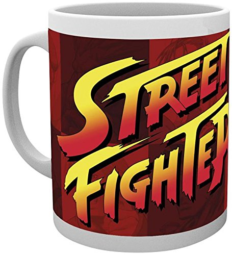 Tazza - Street Fighter - Logo