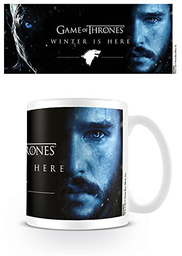 Tazza - Game Of Thrones - Winter Is Here - Jon Snow