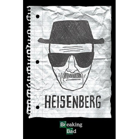 Poster - Breaking Bad - Heisenberg Wanted
