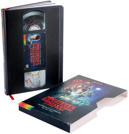 Quaderno - Stranger Things (Vhs) Premium A5 Notebook