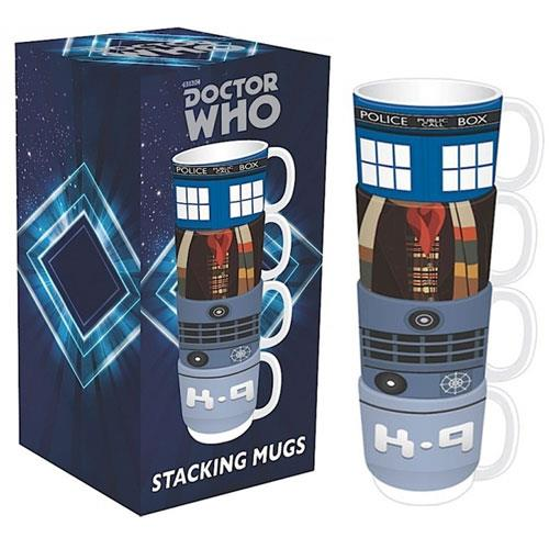 Tazza - Doctor Who - Tazze impilabili - Stacking