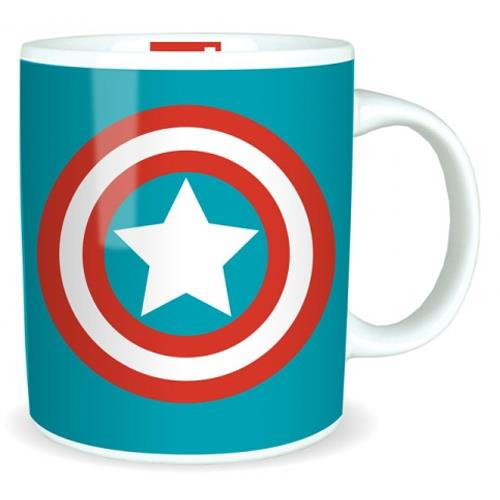 Tazza - Marvel - Captain America Logo