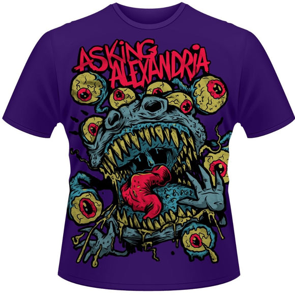 T-Shirt - Asking Alexandria - Eyeballs