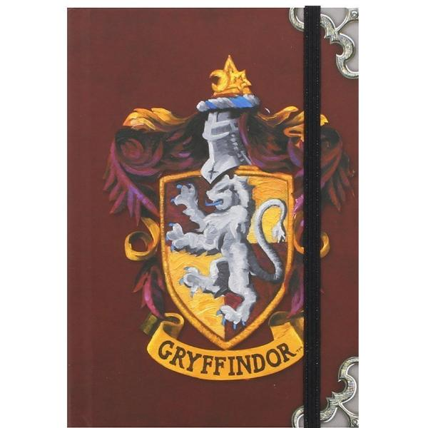 Quaderno - Harry Potter - Gryffindor (Grifondoro) (A6)