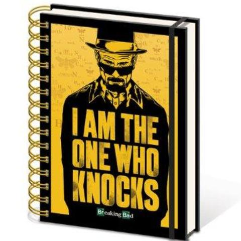 Quaderno - Breaking Bad - I Am The One Who Knocks (A5)