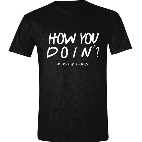 T-Shirt - Friends - How You Doin'? Black