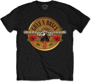 T-Shirt - Guns N' Roses - 30th Photo Logo