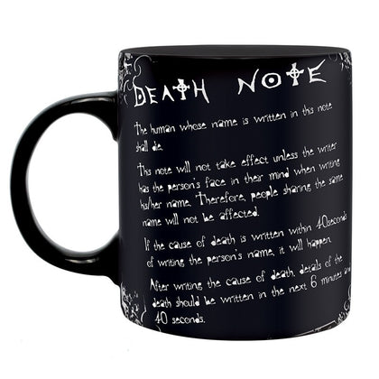 Tazza - DEATH NOTE - L & RULES