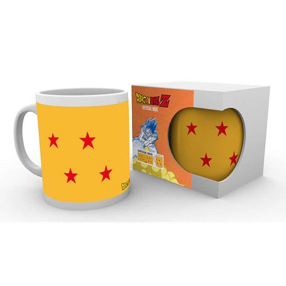 Tazza - Dragon Ball Z - 4 Star Ball