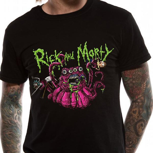 T-Shirt - Rick & Morty - Monster Slime