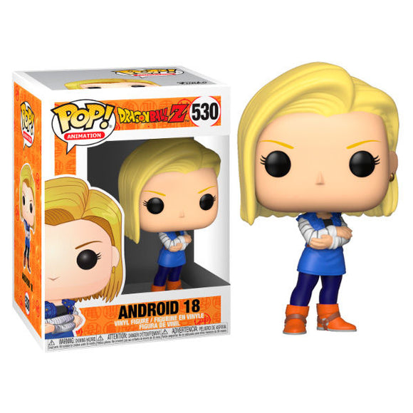 FUNKO POP - DRAGON BALL Z - (530) ANDROID 18