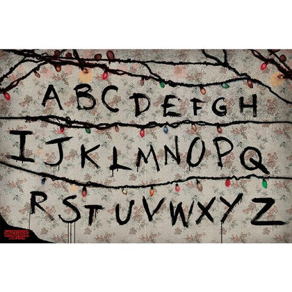 Poster - Stranger Things - R, U, N