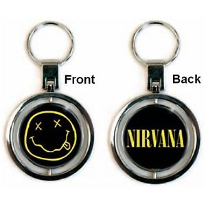 Portachiavi - Nirvana - Smiley