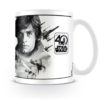 Tazza - Star Wars - 40Th Anniversary - Luke Skywalker