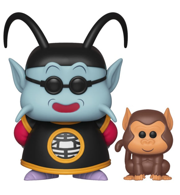 Funko Pop - DRAGON BALL Z - (532) KING KAI AND BUBBLES