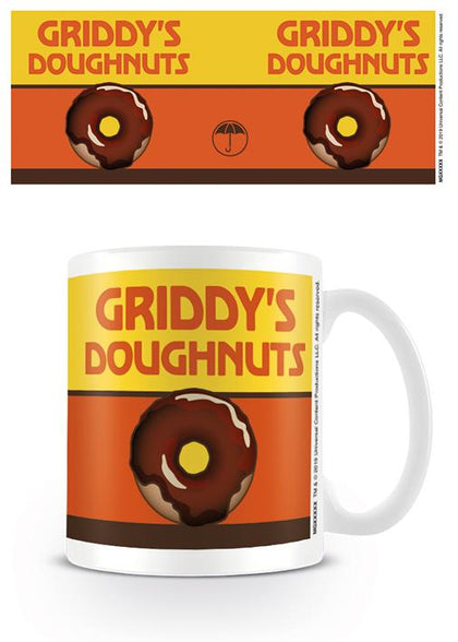 Tazza - Umbrella Academy - Griddy's Doughnuts