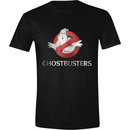 T-Shirt - Ghostbusters - Logo Black