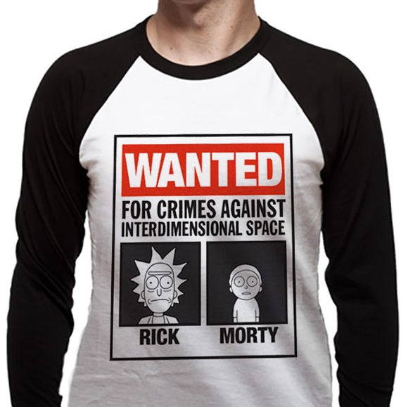 T-Shirt - Rick And Morty - Wanted Poster