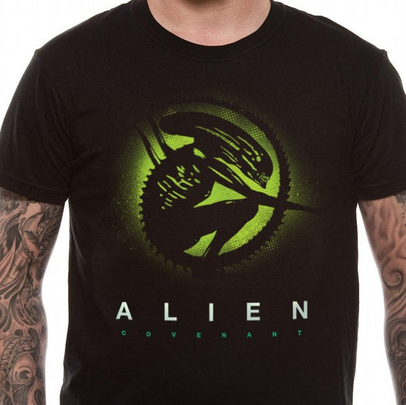 T-Shirt - Alien Covenant - Silhouette