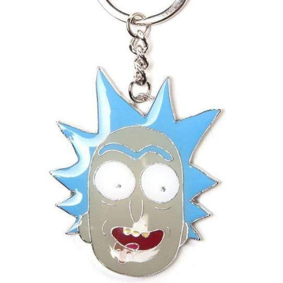 Portachiavi - Rick And Morty - Rick Metal