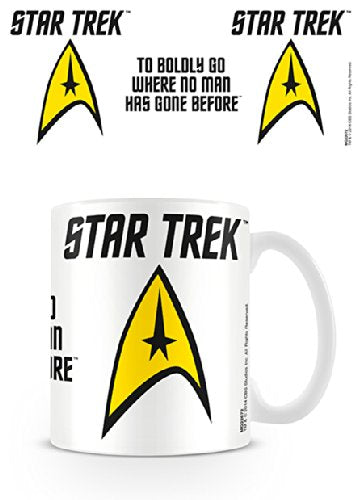 Tazza - Star Trek - To Boldly Go